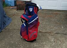 Callaway  Golf Stand Bag - Red/White/Blue Has back strap.Never used.