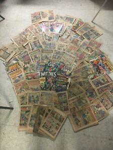 HUGE LOT Over 250 Coverless Comics Marvel DC Spiderman Batman 60s 70s KEY