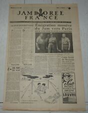 JOURNAL JAMBOREE FRANCE N°15 1947 MOISSON SCOUT SCOUTISME SCOUTS PIERRE JOUBERT