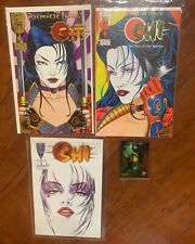 SHI LOT OF 3 - Two #1 & #4 (VF/NM) CRUSADE COMICS And Wizard #10 Card