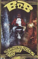 BOBBY RAY ~ ELEMENTAL 22x34 MUSIC POSTER Rap Hip Hop B.O.B. NEW/ROLLED!