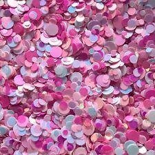 Mixed Nail Glitter Dots Gel/acrylic Nail art Pink White 5g Bag Marshmallow