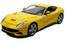 Véhicules miniatures jaune Ferrari