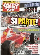 Auto Sprint 2012 n.11 Speciale Ferrari F1