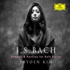 SUYOEN KIM BACH - SONATAS & PARTITAS FOR SOLO VIOLIN 2CD KOREA EDITION SEALED