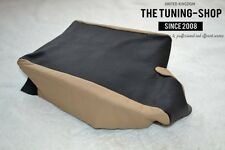 For Bmw 3 Series E46 99-05 Armrest Cover Black & Beige Leather