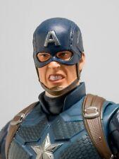 1:12 Painted Captain America  head sculpt SHF chris evans