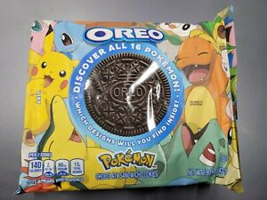 Oreo Pokemon Collab Chocolate Sandwich Cookies 15.25oz LIMITED EDITION IN HAND!