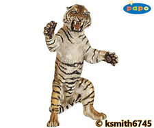 Papo STANDING TIGER solid plastic toy figure wild zoo animal cat * NEW *💥