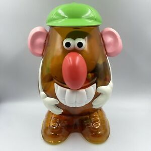 """Vintage 2002 Hasbro Mr. Potato Head Large 14"""" Container LOT of 50 Pieces Total"""