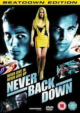 Never Back Down (2008) Sean Faris, Amber Heard, Cam Gigandet NEW UK REGION 2 DVD