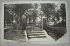 Hoover Park - Hartford City, Indiana - Rppc - Postcard