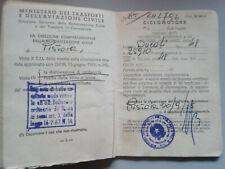 DUCATI  48, 1975 Librettino originale da collezione,Moped Sammler Document