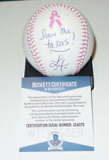 LISA ANN AUTO'D SIGNED MLB PINK BASEBALL BAS COA MILF PORN STAR NAILIN PAYLIN