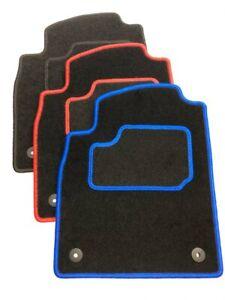 Fußmaten Schwarz Blau Rot Auto Tuning passend für Opel Astra J Bj. 2010-2015