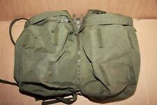 Genuine British Army Pair of Side Pockets&Yoke OLIVE for Bergen 120L