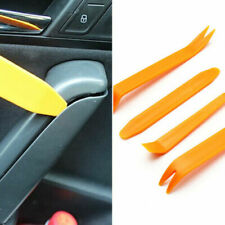 4Pcs Car Door Trim Removal Tool Pry Bar Panel Dash Radio Body Clip Installer US