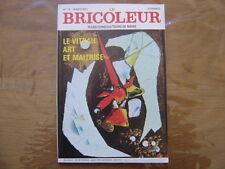1972 LE BRICOLEUR plans conseils bricole et brocante SOMMAIRE EN PHOTO n° 75