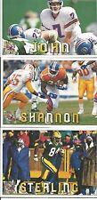 1994 Pacific Triple Folder Sterling Sharpe Green Bay Packers