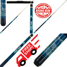 Blue Dragon Pool Stick Table Sports Indoor custom wrap stick billiards que New