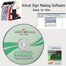 Artcut 2009 Sign Making Software for Cutting Plotter Vinyl Cutter 9 Languages