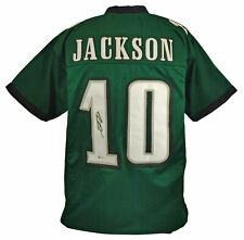 Desean Jackson Signed Pro Style Green Jersey BECKETT Authenticated