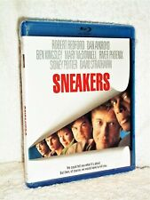 Sneakers (Blu-ray, 2015) NEW Robert Redford Dan Aykroyd Ben Kingsley