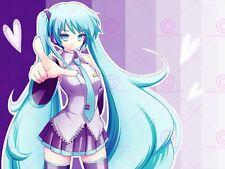 MANGA ANIME Vocaloid Hatsune Miku Amore Cuore perdente Poster Art Print LV10071
