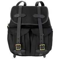 New with tags Filson 21L Rugged Twill Rucksack Backpack Black Twill MSRP $ 350