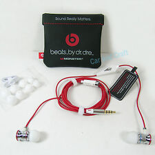 Genuine Monster Beats by Dr. Dre iBeats Headphone Earphone iPhone 5 6+ Original