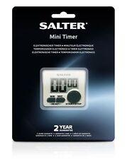 Salter Mini Timer Large Button Electronic Memory White 398