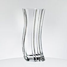 Vase Blumenvase ~CITY DIAMONDS~ H=34,5cm (GERMAN CRYSTAL by CRISTALICA) GW04378