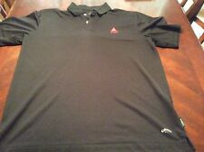Black Bass Beer Callaway Golf Dry Weave Polo Shirt Size L