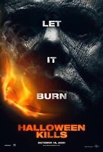 Halloween Kills Poster Michael Myers Poster Laminated Halloween Kills A4 Poster