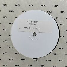 RARE! The Who The Kids Are Alright white label test promo advance vinyl 2x12 LP