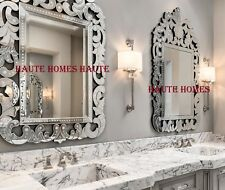 "NEW DESIGNER STUNNING 56"" VENETIAN ARCH ETCH ENGRAVE ORNATE Wall VANITY Mirror"
