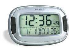 KIENZLE Quarzwecker digital mit Beleuchtung, Datum, Wochentaganzeige, A-00466