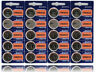 Sony Lithium 3V Batteries CR2032 2032 DL2032 Exp By 2027 20 Pack Watch Batteries