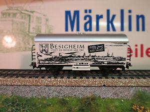 ( J7  ) MÄRKLIN SONDERWAGEN850 JAHRE BESIGHEIM 1153 - 2003  NEU OVP AUS SAMMLUNG