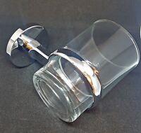 Wall Mounted Bathroom Glass Tumbler Holder - Bathroom Toothbrush Holder - Chrome