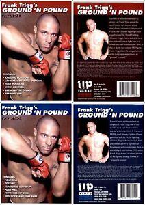 Frank Trigg Ground and Pound 2 Dvd Set Wrestling MMA UFC Jiu-Jitsu BJJ