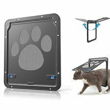 New listing Catoop Cat Door Screen Door, Pet Dog Cat Screen Door Protector for Sliding Door