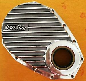 Thickstun Chevrolet 6 cylinder 235 261 Front Timing Cover Finned Hot Rod