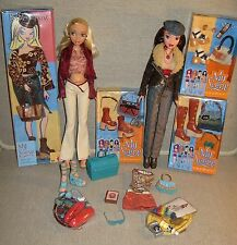 MY SCENE ~ BARBIE (1st Wave) Blonde & CHELSEA Redhead Doll w/Clothing & Access.