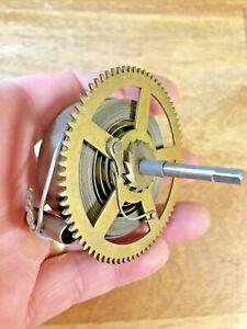 Old Waterbury Clock Movement Strike Side Main Spring(See Pics to ID Mvmt)(K5850)