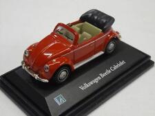 Cararama VW Beetle Cabriolet Open Top Car Boxed 1:76 OO Gauge Trackside C1