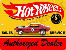 "Hot Wheels Dealer Sign 9"" x 12"""