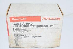 NEW Honeywell L6081A1010 Triple Aquastat Controller