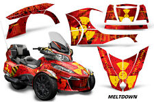 AMR Racing Can Am BRP RT-S Spyder Full Trim Kit Wrap Roadster Decals 2014+ MLTD