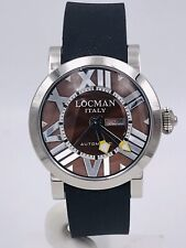 Orologio Locman Toscano 293MK/660 Acciaio/Gomma Automatico Scontatissimo Nuovo
